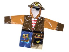 Pirate Rain Coat (2T-4/5)