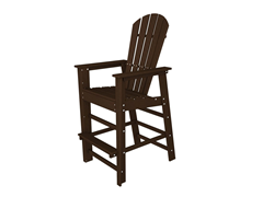 South Beach Bair Chair, Mahogany
