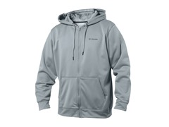 Grey Full Zip w/ Columbia Logo
