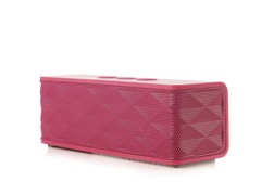 Bluetooth Stereo Speaker w/ Mic - Pink