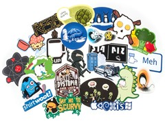 Random Sticker 5-Pack or 10-Pack