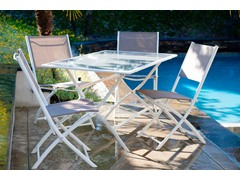 Miami 5-Piece Folding Dining Set