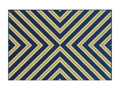 Amalfi Indoor/Outdoor - Navy (6 Sizes)