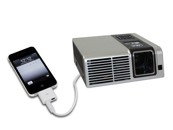 250 lumen svga led micro projector for Apple pico projector