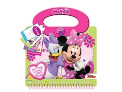 Disney Minnie- Bowtique Purse Activity Book