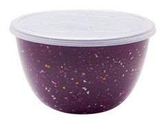Zak Designs Confetti Grape 2 qt Serve Bowl