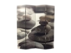 ORE NY-1079-4 4 Panel Calming Stones Room Divider