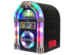 Retro Tabletop Radio Jukebox with USB & MP3