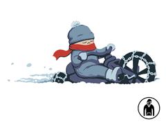 Winter Can't Slow Me Down Hoodie