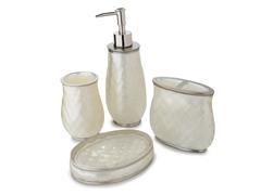 Nicole Miller Sparkle Bath Set