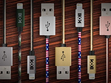 Ikon MFI Lightning Cables: 3 Packs