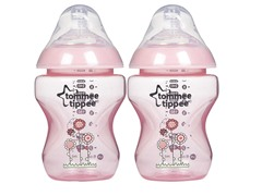 Tommee Tippee Pink Bottle 2-Pk - 9oz.