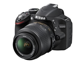 Nikon D3200 24.2MP DSLR w/ 18-55mm Lens