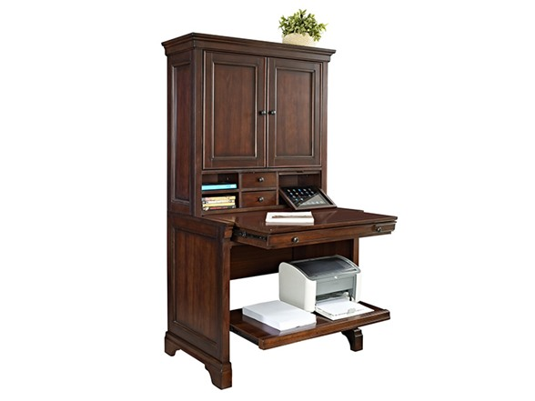 36 Quot Compact Computer Desk W Hutch
