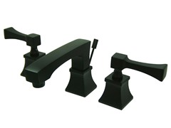 Towne Square Lavatory Faucet, Oil Rubbed Bronze