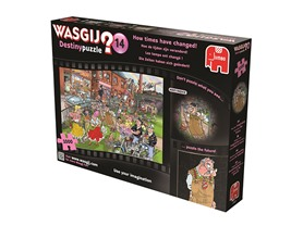 Wasgji How The Times Have Changed Jigsaw Puzzle