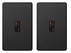 Lutron Single-Pole Dimmer 2-Pack, Black