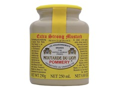 Lion's Extra Strong Mustard 8.8oz
