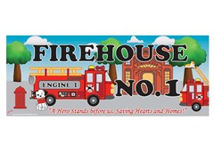 Fireman Room Sign