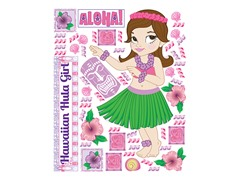 Luau Girl Party Accessory Sets