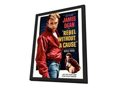 Rebel Without a Cause Framed Poster