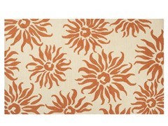In/Outdoor Rugs Storm Burnt Orange