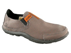 Cushe Men's Slipper - Grey/Orange (40)