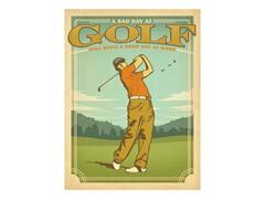 Golf Beats Work