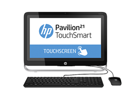 "HP 21"" Full-HD Touchsmart All-in-One PC"