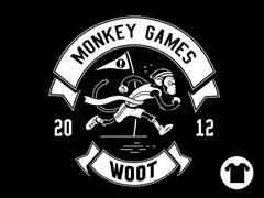2012 Woot Monkey Games - Black