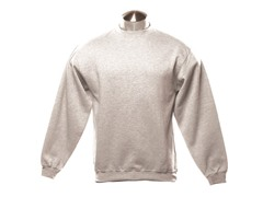 Crew-Neck Sweatshirt - White