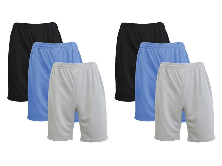 GBH Men's Moisture Wicking Shorts 6 PK