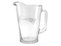 Patriots Satin Etched Pitcher