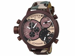 Welder by U-Boat Triple Time Zone Chrono