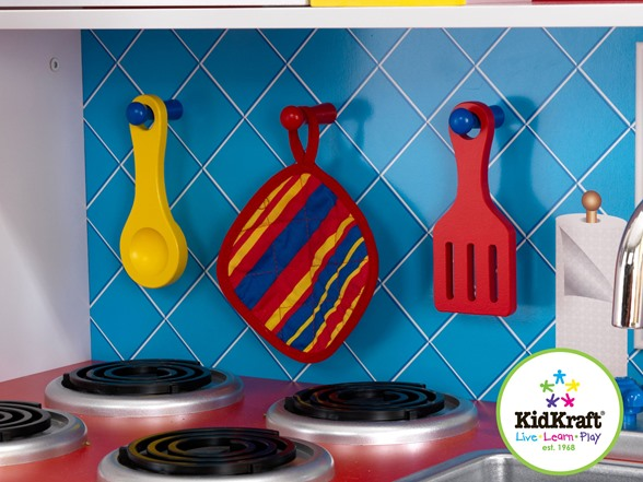 Kidkraft Deluxe Let S Cook Kitchen Kids Amp Toys