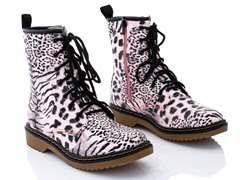 Rasolli Combat Boots, Leopard