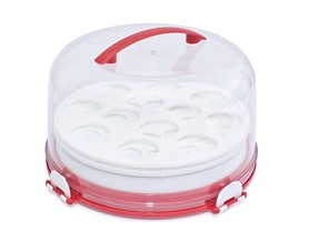 Mrs. Fields 3 pc Dessert Carrier