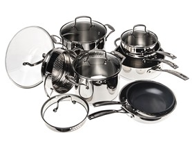 Cuisinart 13Pc Classic Induction Stainless Cookware