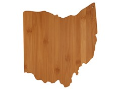 Totally Bamboo Ohio Cutting Board