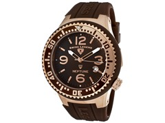 Men's Neptune Watch - Brown/Brown