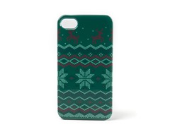 Ugly Holiday Sweater 2007 iPhone Case