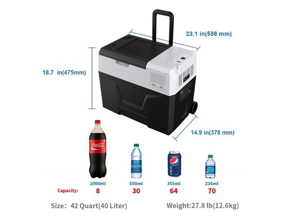 ACOPOWER (Replaceable Battery) Freezer