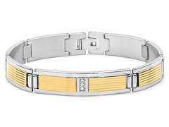 Two-Tone Link Bracelet