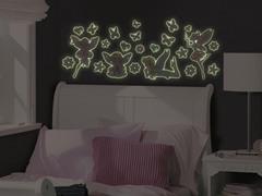 Glow-in-the-Dark Fairies - Set of 4