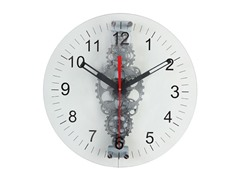 "24"" Large Moving Gear Wall Clock"