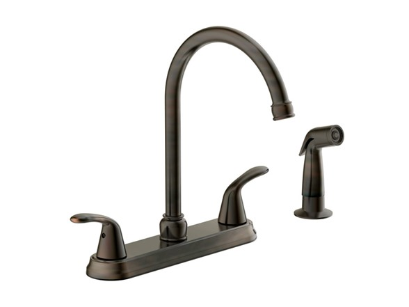 brushed bronze kitchen faucet kitchen faucet brushed bronze 16505