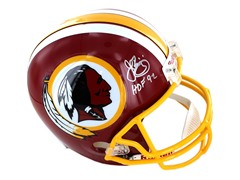 John Riggins Signed Washington Redskins