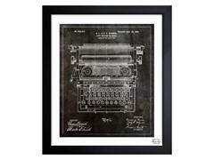 Type Writing Machine 1899 (3 Sizes)