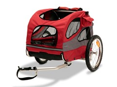 HoundAbout II Aluminum Bicycle Trailer