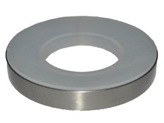 Brass Mounting Ring, Brushed Nickel